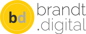 Logo Brandt Digital A yellow circle.